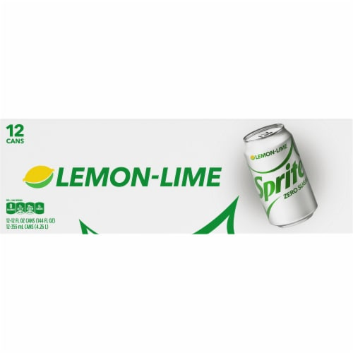 Sprite® Zero Sugar Lemon-Lime Soda Perspective: top