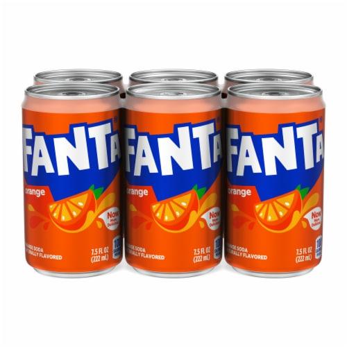 Fanta Orange Flavored Soda Perspective: top