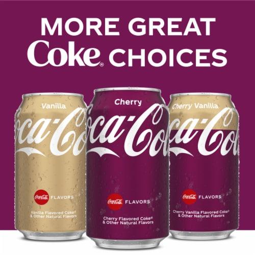 Coca-Cola Cherry Soda Perspective: top