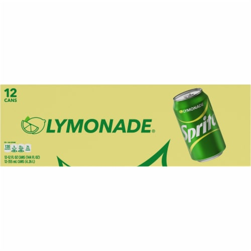 Sprite Lymonade Lemon-Lime & Lemonade Flavored Soda Perspective: top