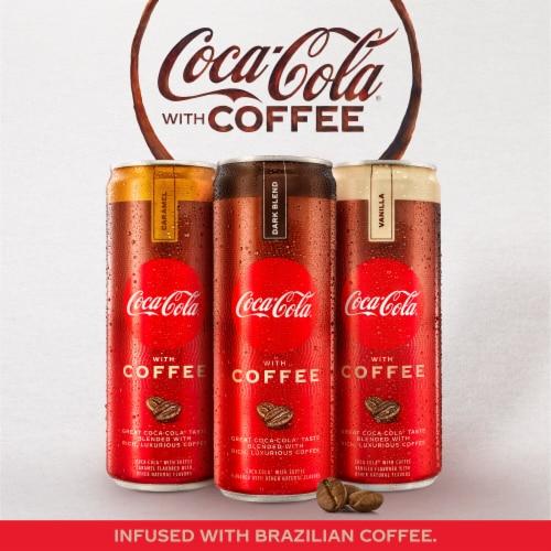 Coca-Cola with Coffee Vanilla Soda Perspective: top