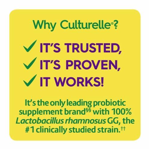 Culturelle Probiotics Digestive Health Orange Flavored Chewables Perspective: top
