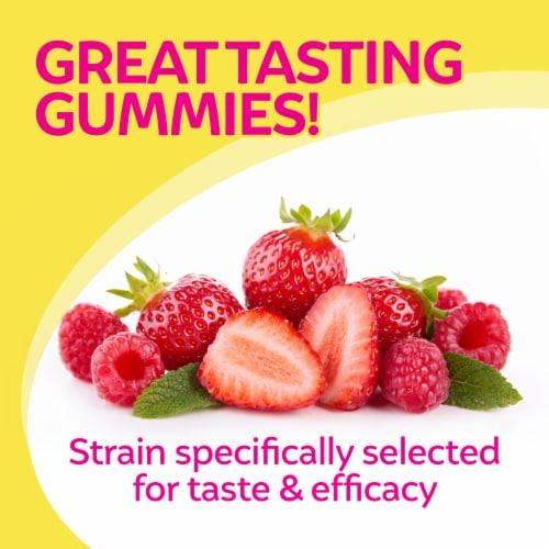 Culturelle Kids Berry Blast Flavor Probiotic Gummies Perspective: top