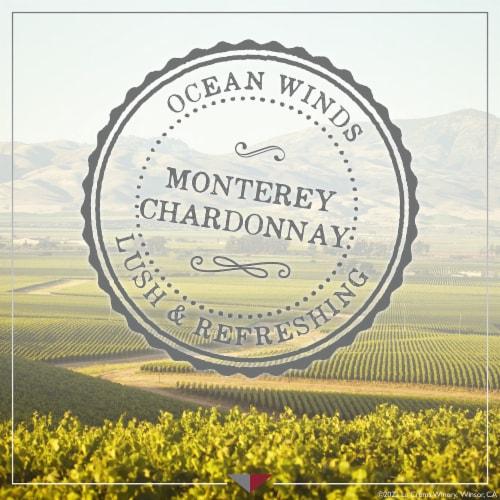 La Crema Monterey Chardonnay White Wine Perspective: top