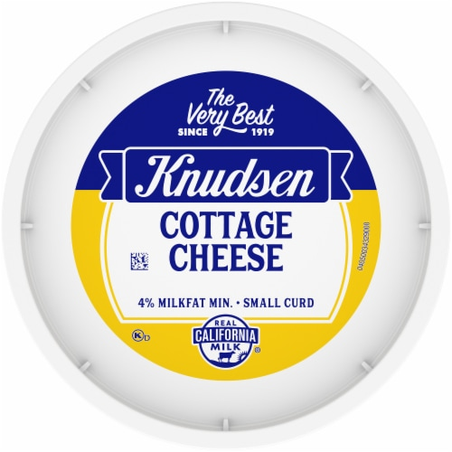 Knudsen Small Curd Cottage Cheese Perspective: top