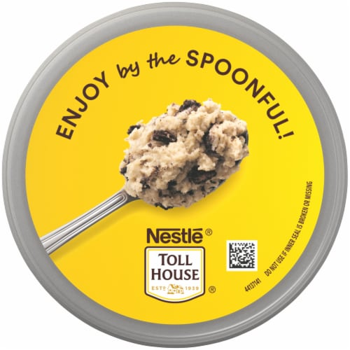 Nestle Toll House Cookies & Creme Edible Cookie Dough Perspective: top