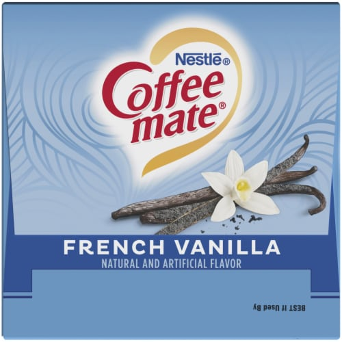 Coffee-mate French Vanilla Liquid Coffee Creamers Perspective: top