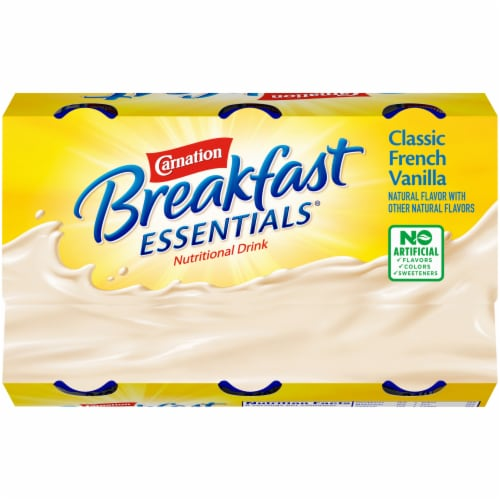 Carnation Breakfast Essentials® Classic French Vanilla Drink Perspective: top