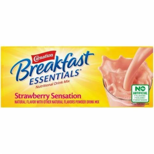Carnation Breakfast Essentials Strawberry Sensation Drink Mix Perspective: top