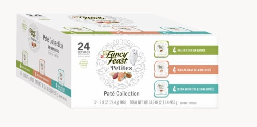 Fancy Feast Petites Pate Collection Gourmet Cat Food Perspective: top
