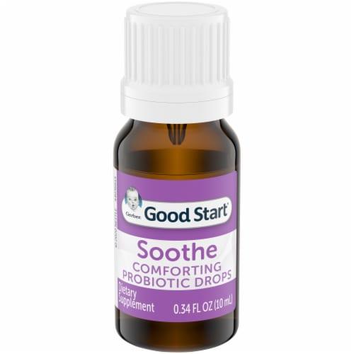 Gerber Soothe Probiotic Colic Drops Perspective: top