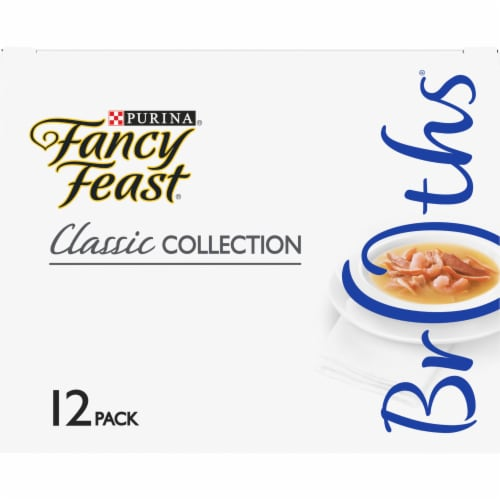 Fancy Feast Classic Collection Variety Pack Perspective: top