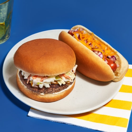 Ball Park® White Hot Dog Buns Perspective: top