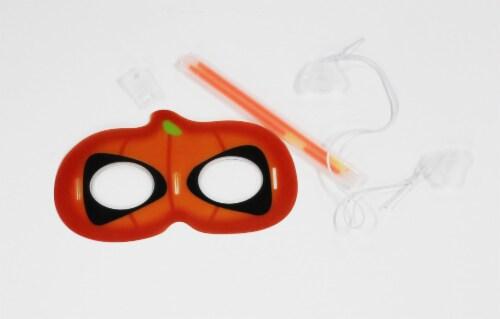 Klein International Glow Fun Pumpkin Eye Mask Perspective: top