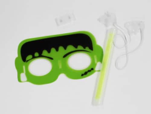 Klein International Glow Fun Frank Eye Mask Perspective: top