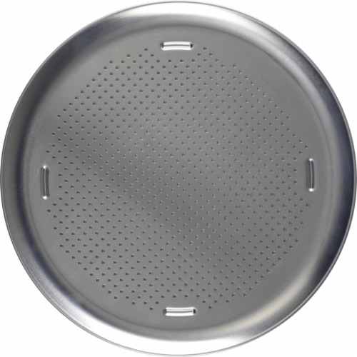 T-fal AirBake Aluminum Perforated Pizza Pan Perspective: top