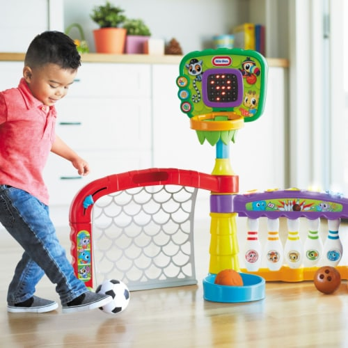 Little Tikes 643224P 3-in-1 Sports Zone Light Up Baby Toddler Toy with Sound Perspective: top