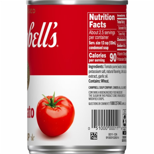 Campbell's® Condensed Tomato Soup Perspective: top