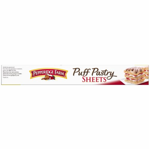 Pepperidge Farm Puff Pastry Sheets Perspective: top