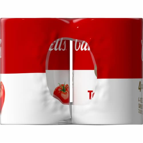Campbell's Condensed Tomato Soup Perspective: top