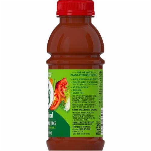 V8 Original 100% Vegetable Juice Perspective: top