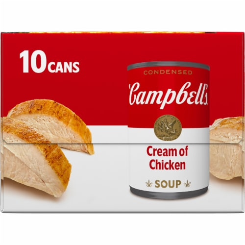 Campbell's Condensed Cream of Chicken Soup Perspective: top