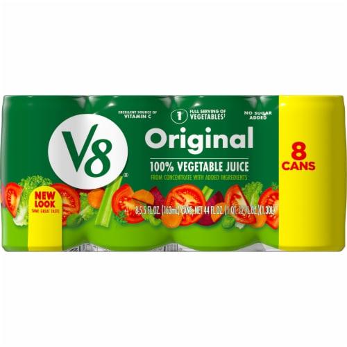 V8 Original Vegetable Juice Perspective: top