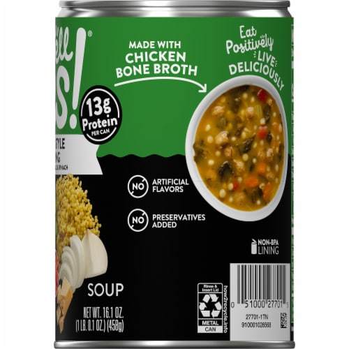 Campbell's Well Yes! Italian Wedding Soup Perspective: top