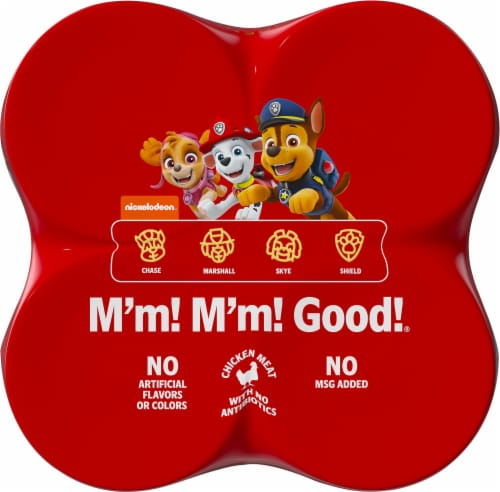 Campbell's Paw Patrol Pasta Soup Perspective: top