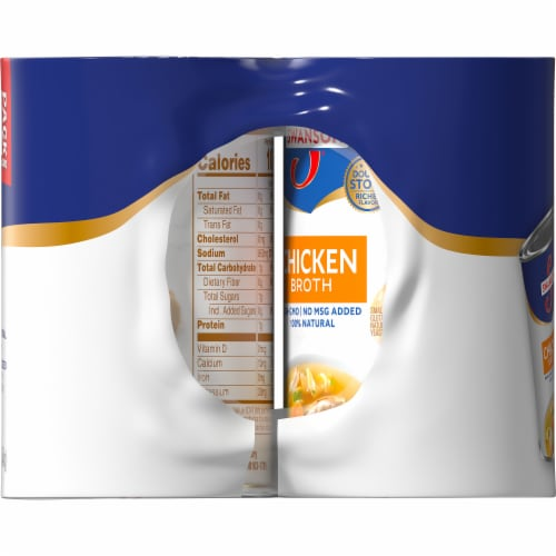 Swanson® Chicken Broth Perspective: top