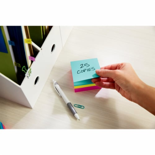 Post-it® Ultra Collection Notes Cube Perspective: top