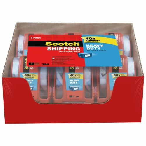 Scotch® Heavy-Duty Shipping Packing Tape In Dispenser Perspective: top
