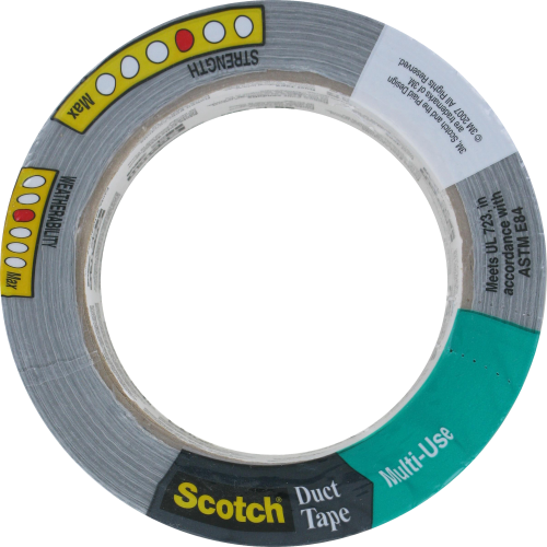 Scotch Multi-Use Duct Tape - Silver Perspective: top