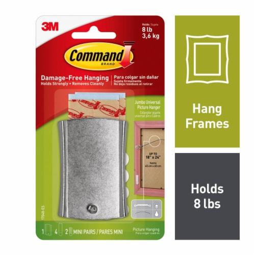 Command™ Jumbo Universal Picture Hanger Perspective: top