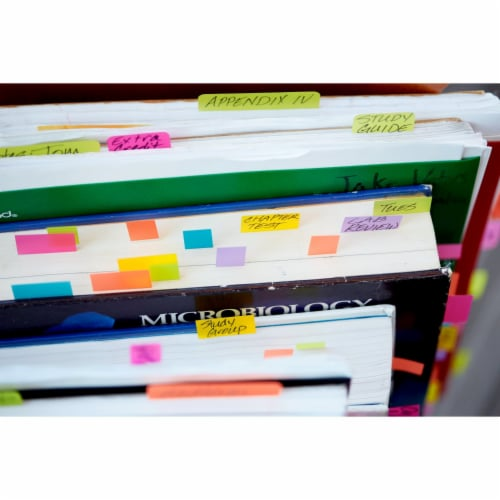 Post-it® Flags Combo Pack - Assorted Perspective: top