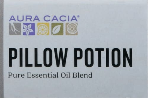 Aura Cacia® Pillow Potion Relaxing Essential Oil Blend Perspective: top