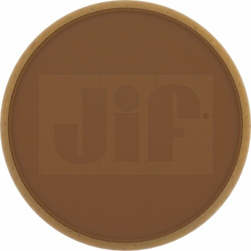 Jif Natural Crunchy Peanut Butter Spread Perspective: top
