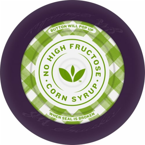 Smucker's Natural Concord Grape Fruit Spread Perspective: top