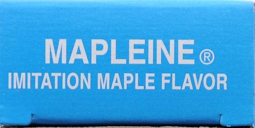 Crescent Mapleine Imitation Maple Flavor Perspective: top
