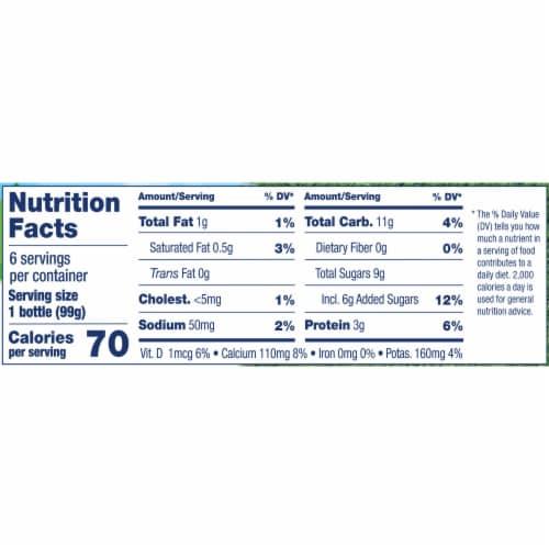 Stonyfield® Organic Kids Strawbana Yogurt Smoothie Perspective: top
