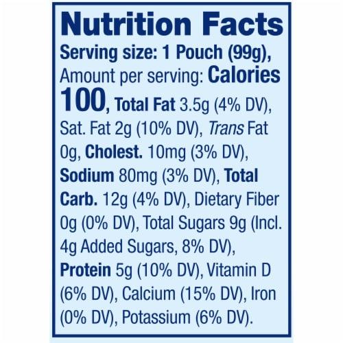 Stonyfield® Organic Strawberry Beet Berry Whole Milk Yogurt Perspective: top