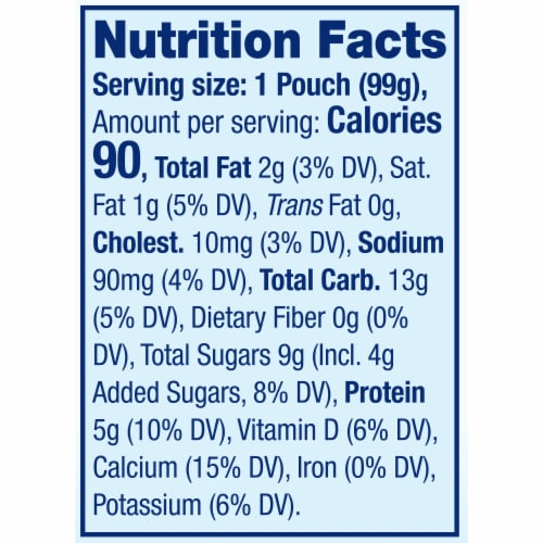 Stonyfield® Organic Kids Strawberry Lowfat Yogurt Perspective: top