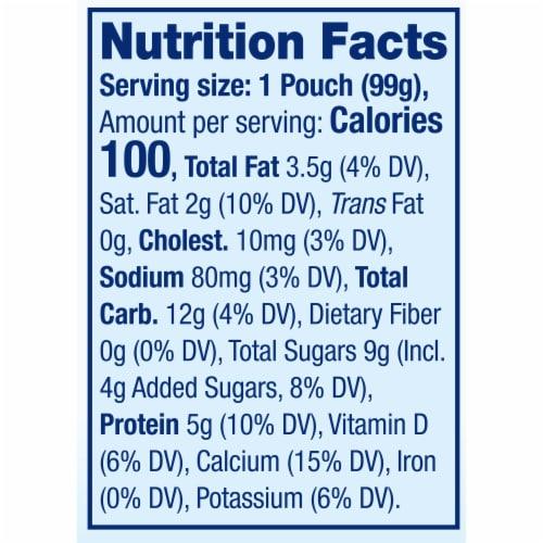 Stonyfield® Organic Pear Spinach Mango Whole Milk Yogurt Perspective: top