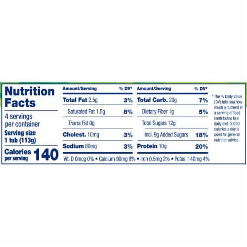 Stonyfield® Organic Vanilla Lowfat Yogurt with Choco Koala Crisp Perspective: top
