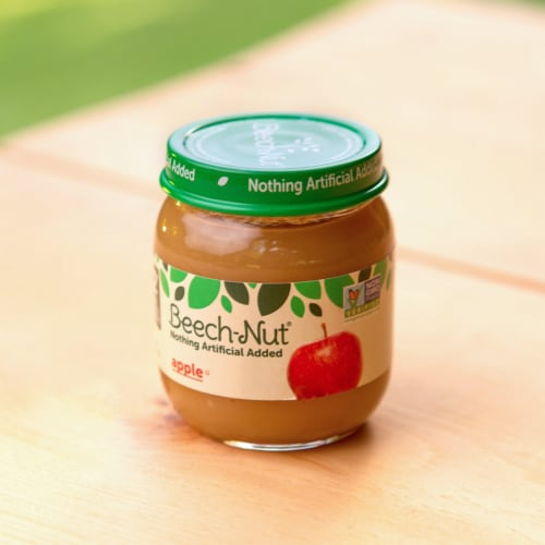 Beech-Nut Apple Stage 2 Baby Food Perspective: top