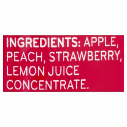 Beech-Nut Fruities Apple Peach & Strawberry Puree Stage 2 Baby Food Perspective: top
