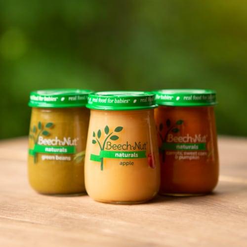 Beech-Nut Naturals Apple Cinnamon & Granola Stage 2 Baby Food Perspective: top