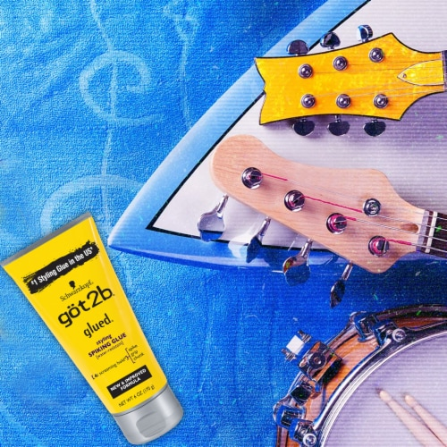 got2b® Glued® Screaming Hold Water-Resistant Styling Spiking Glue Perspective: top