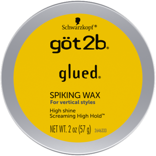 got2b Glued High Shine Screaming High Hold Spiking Wax Perspective: top