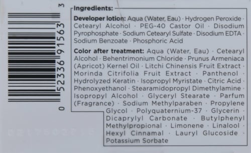 got2b® Metallics Amethyst Chrome Permanent Hair Color Perspective: top
